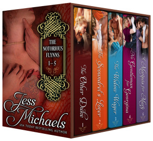 The Notorious Flynns Bundle by Jess Michaels