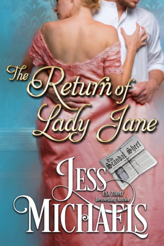 The Return of Lady Jane by Jess Michaels