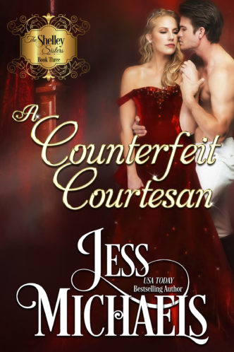 A Counterfeit Courtesan by Jess Michaels