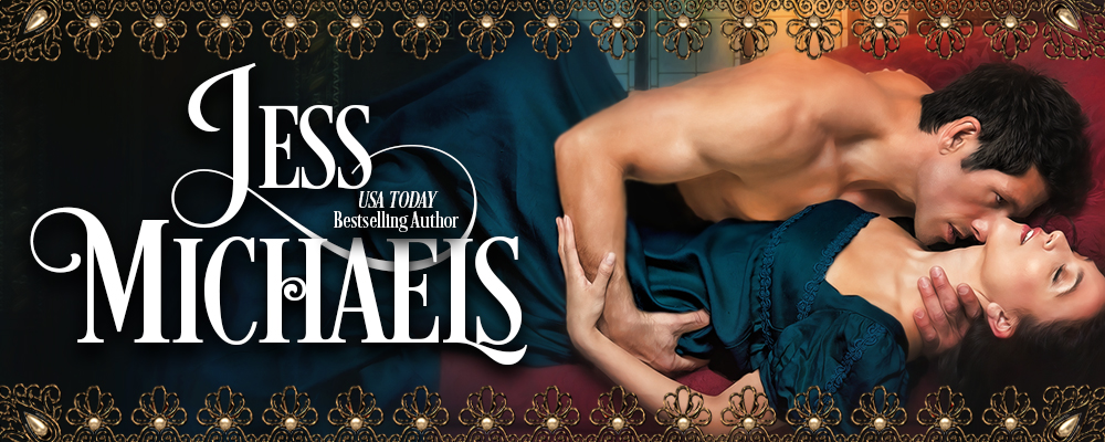 Jess Michaels, USA Today Bestselling Author
